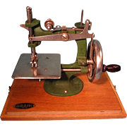 Child's Sewing Machine by Grain of Nottingham England