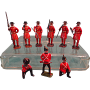 Group of Britains Palace Guard