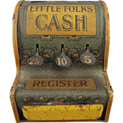 Little Folks Cash Register with Nursery Rhyme Scenes