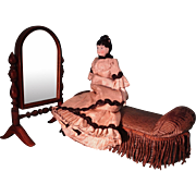 Psyche Mirror for French Fashion Miniature Display