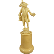 Historic Miniature Figure on Pedestal