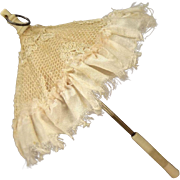 "Fantastic 7"" French Fashion Parasol with Lace Cover"