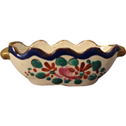 French Miniature Porcelain Bowl