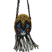 Beaded Doll Purse for French Fashion