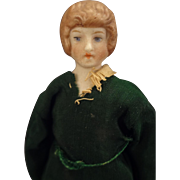 "5"" Doll House Lady with Painted Features"