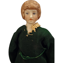 """5"""" Doll House Lady with Painted Features"""