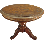 Outstanding Round Tilt Top Table for French Fashion Display