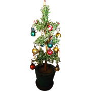 Lovely Christmas Tree Decorated for Doll House