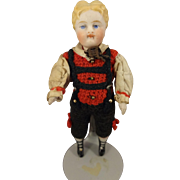 All Bisque Boy with Swivel Head and Articulated Limbs
