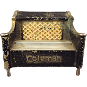 Miniature Coleman Stove in Cast Iron