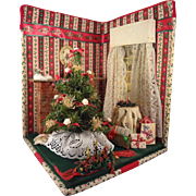 Christmas Corner Display Room Scene