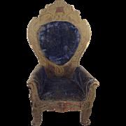 Large Doll House Boule Arm Chair