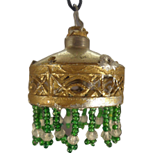 Doll House Chandelier with Glass Bead Trim