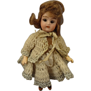 "5"" Bisque Doll with Swivel Head and Sleep Eyes"