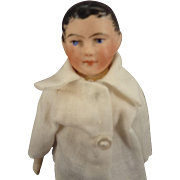 French Bisque Doll as Young Man