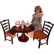 Pair of Sample Chairs  for French Fashion Dolls