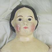 1860's Greiner type paper Mache Doll