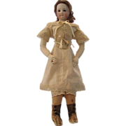 "1860's Style 3 Piece Undergarment set for 18"" Doll"