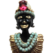 CINER (signed) Blackamoor Pin/Brooch