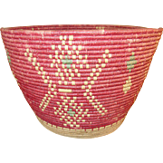 Vintage Native American Woven Basket