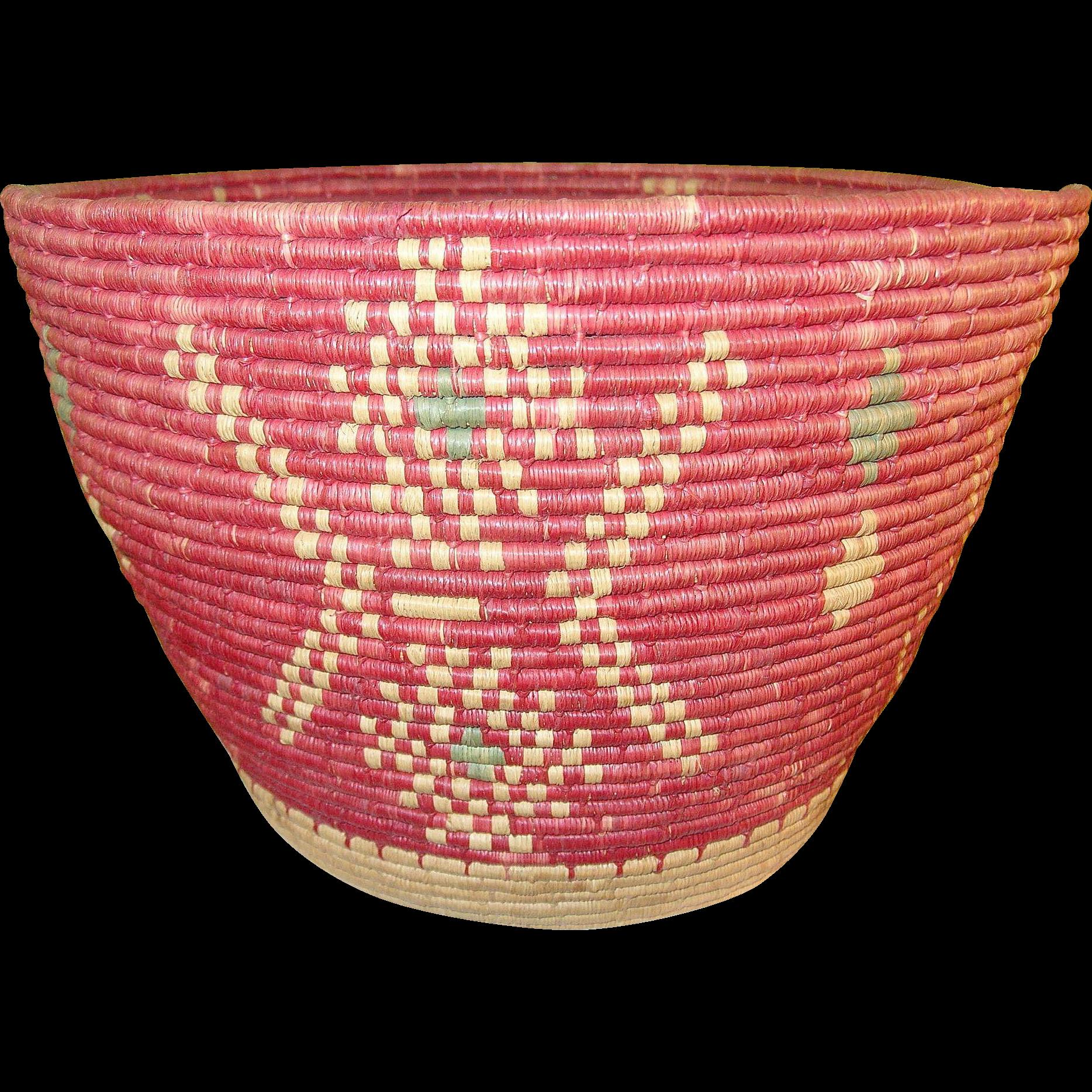Vintage Woven Basket 71