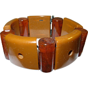 Vintage Bakelite Expandable Bracelet