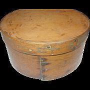 Primitive Wooden Storage Box - Red Tag Sale Item