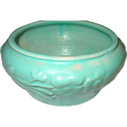 Art Pottery Planter 1950's Robbins Egg Blue