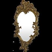 Rococo Gold Gilt Mirror 18th Century