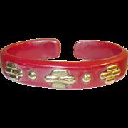 Vintage Bakelite Child's Cuff Bracelet
