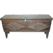 Antique Sugar Chest 1590's - 1600's