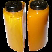 Vintage Bakelite Salt / Pepper Shakers