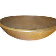 Vintage Wooden Dough Bowl