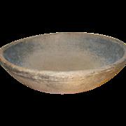 Vintage Wooden Bowl 1890's