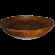 Antique Wooden Bowl 1850's