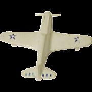 WW II Brooch Airplane