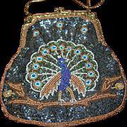 Vintage Beaded Handbag by Shiba