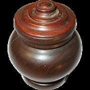 Vintage Treenware Urn 1930's