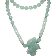 Vintage Jade Necklace/Pendant