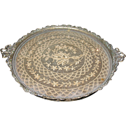 Vintage Vanity Tray Lace Insert 1930's