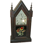 Antique Steeple Clock 8 Day