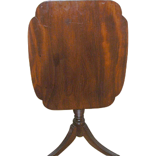 Antique Tilt Top Table 1850's