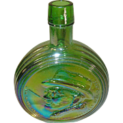 Vintage Bottle Wheaton First Edition F.D.R. Iridescent Green