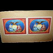 Vintage Helmar Brewing Co Card Seal of NY