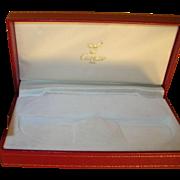 Vintage Display Box Cartier