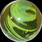Vintage Art Glass Paperweight