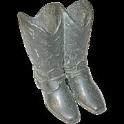 Vintage Match Safe Boot Design by Trophy Craft