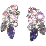 Vintage Earrings Eisenberg Ice