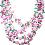 Vintage Early Plastic Necklace