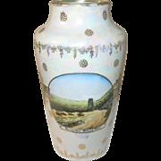 Vintage Lusterware Vase Mohawk Trail NY